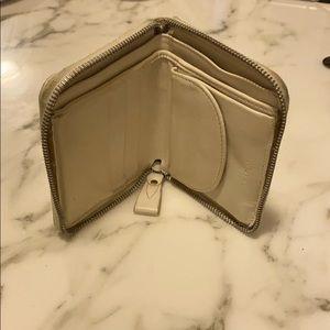 Carven White Wallet